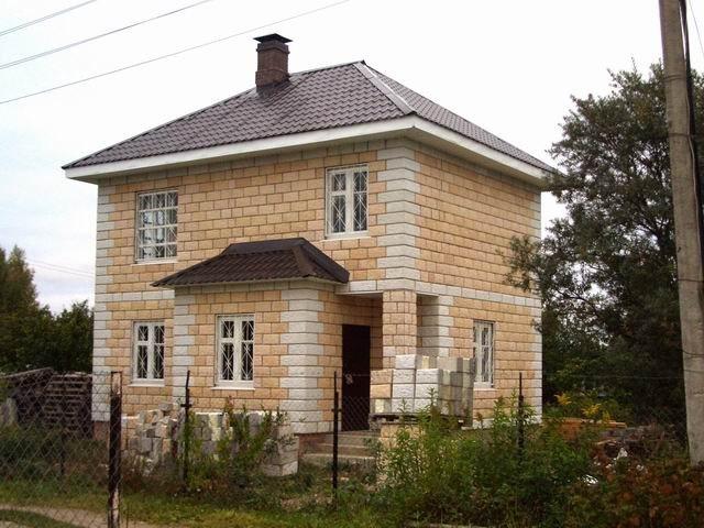 Каталог домов из кремнегранитных блоков