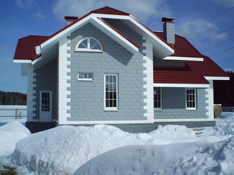 Дом из кремнегранита сравнение с кирпичным домом